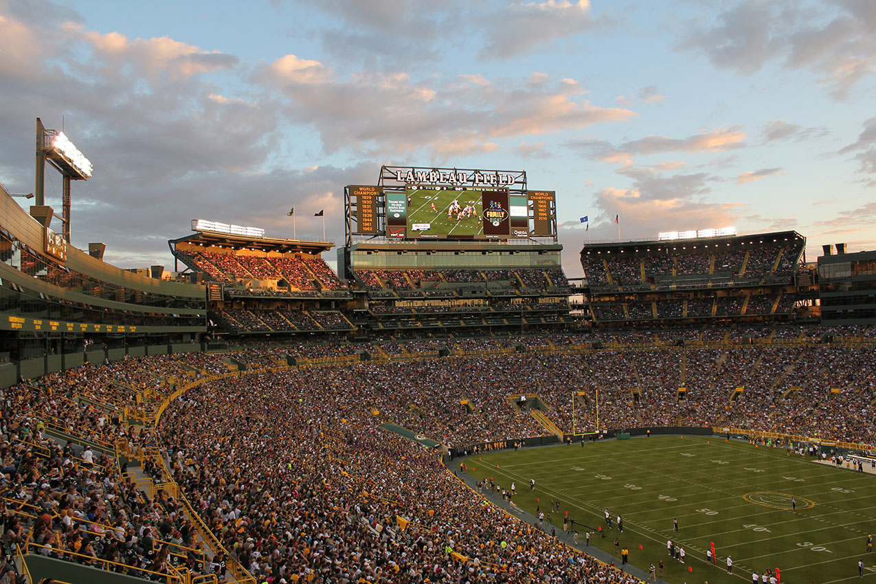Greenbay Packers, Lambeau Field