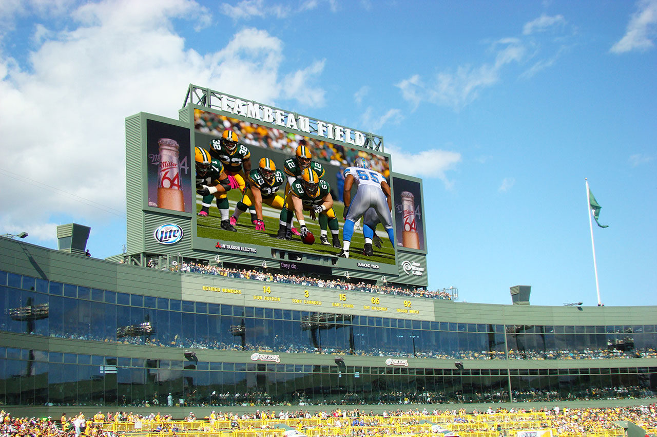 Green Bay Packers Lambeau Field Anthony James Partners