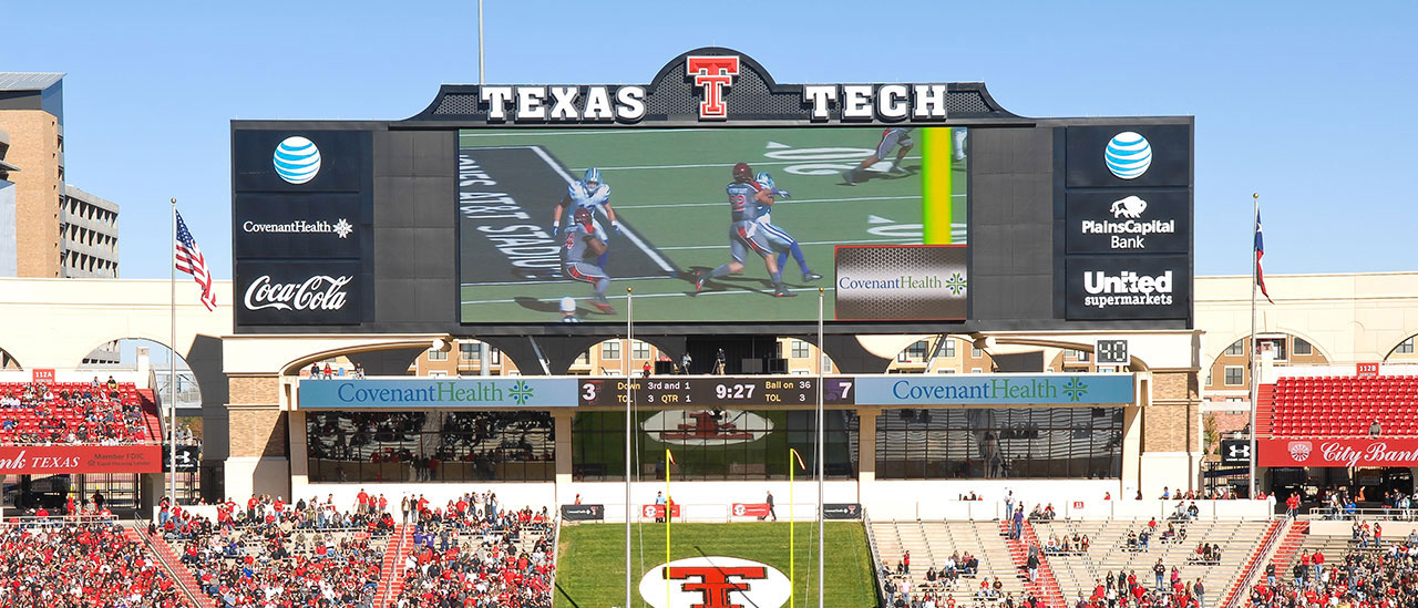 Texas Tech Jones, AT&T Stadium