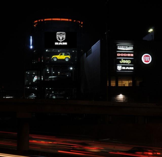 Chrysler group llc los angeles showroom anthony james for Motor village dodge los angeles