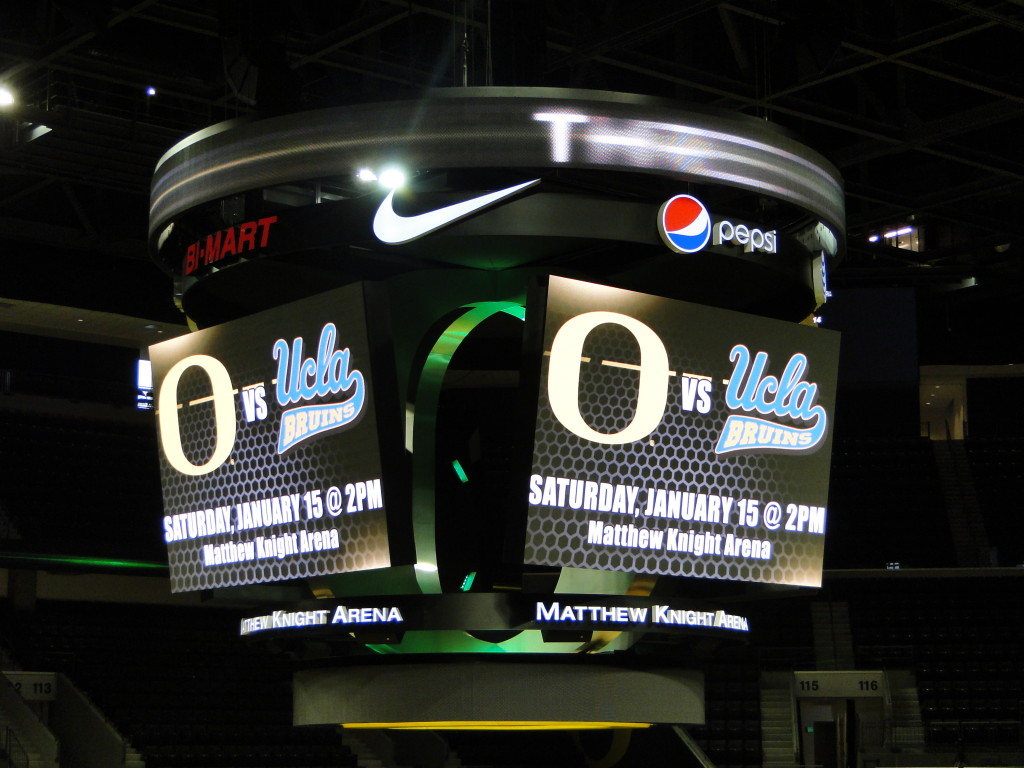 University of Oregon, Matthew Knight Arena