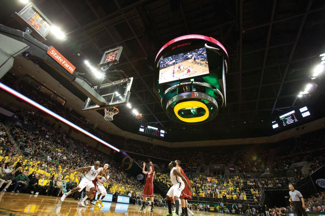 University of Oregon, Matthew Knight Arena