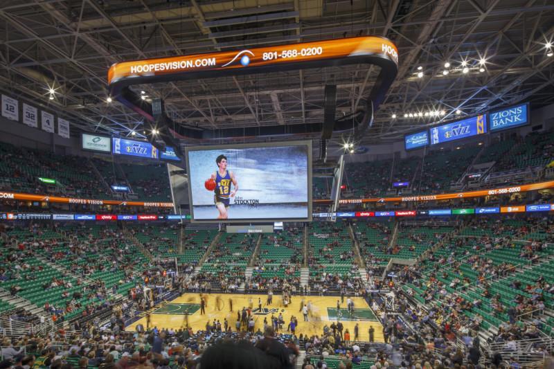 Utah Jazz Energysolutions Arena Anthony James Partners