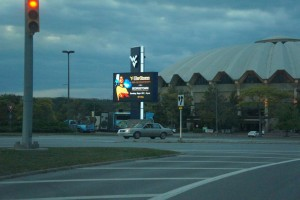West Virginia University, WVU Coliseum Marquee