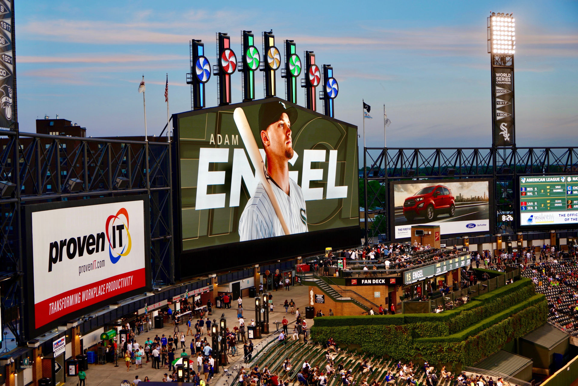 Stadium LED Display, Chicago White Sox, AV Consultant, Jumbotron