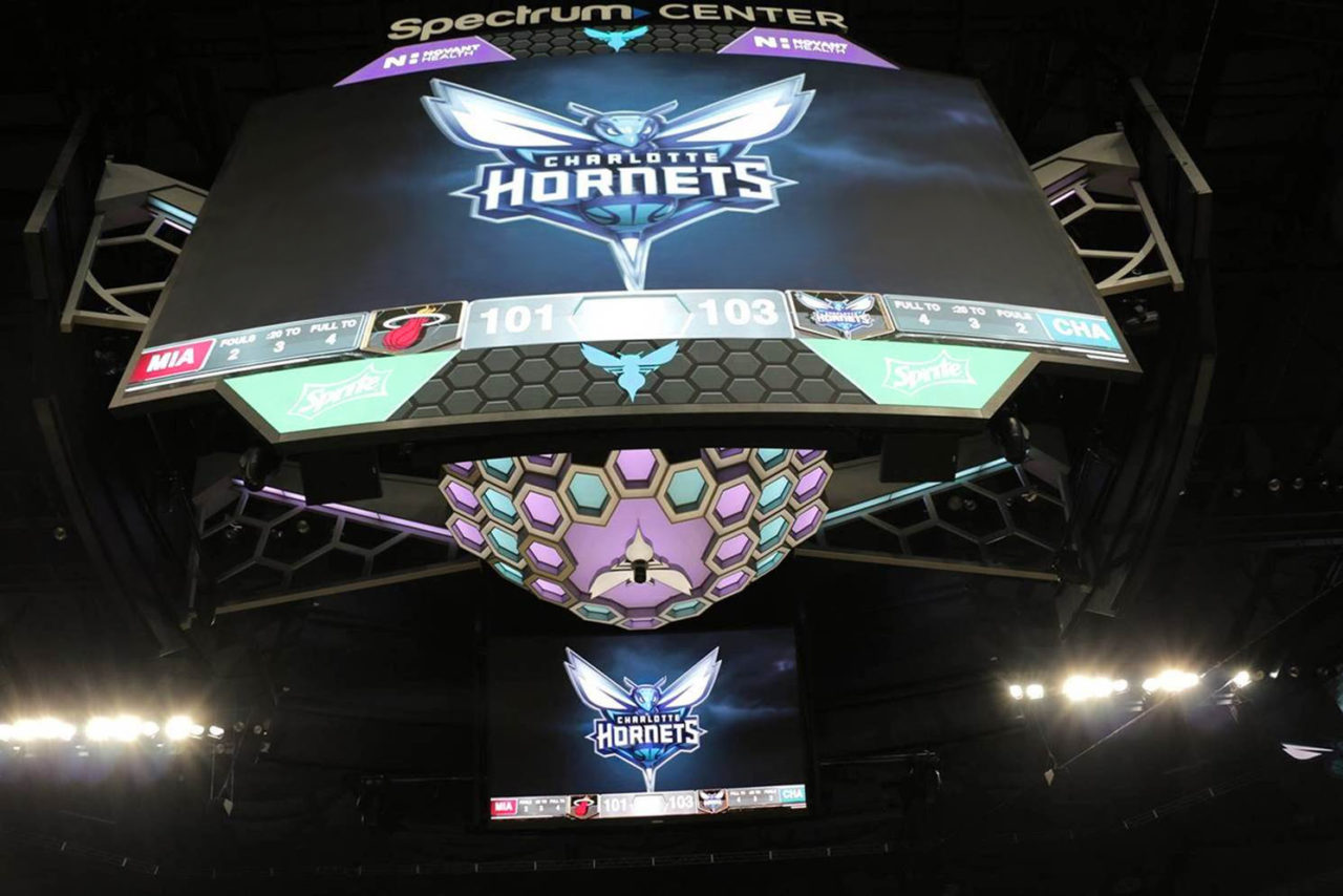 AJP Designs and Installs One of the Biggest and Highest-Quality Scoreboards in the NBA