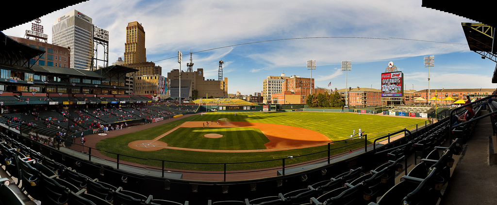 Broadcast cabling, SMPTE, fiber, Memphis redbirds, autozone park, Television Reception Panel, TVRP, Video replay, control room, Technical Operations Center (TOC), triple-A, minor leaque, St. Louis Cardinals, in-house video, linear, baseball, soccer